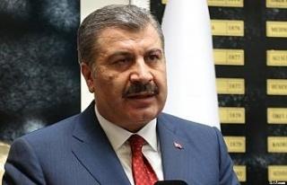 """Sağlık Bakanı Koca: """"Erzurum'da ikinci doz..."""