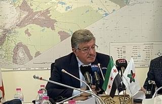 Suriye muhalefetinin Başkanı Muslat, ABD temaslarını...