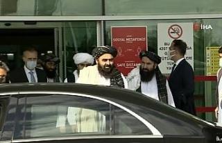 Taliban hükümetinin Dışişleri Bakan Vekili Emirhan...
