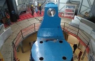 Türkiye'nin en büyük kızılötesi teleskobunda...