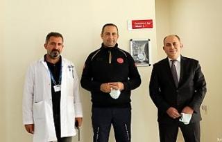 Yerli Covid-19 aşısı 'TURKOVAC' için Erzincan'da...