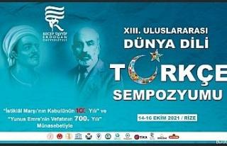 """YTB destekleriyle """"Uluslararası Dünya Dili Türkçe..."""