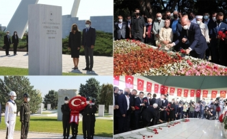 Darbe lideri Gürsel'i birkaç kişi, Adnan Menderes'i binler andı