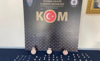 İstanbul'da zeytin bidonlarıyla tarihi eser kaçakçılığı polise takıldı: 86 eser ele geçti