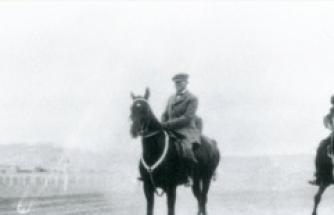 Genelkurmay arşivlerindeki Atatürk fotoğrafları yayınlandı