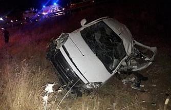 Cizre'de feci kaza: 2 ölü, 4 yaralı