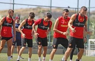 Göztepe'de Galatasaray maçı hazırlıkları başladı