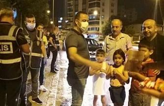 Huzur uygulamasında sürücüler maskeye sarıldı