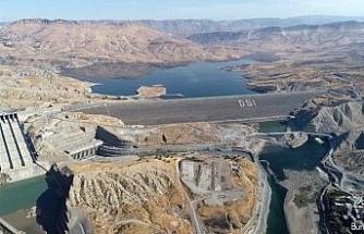 Ilısu Veysel Eroğlu Barajı'nda üçüncü türbin devreye girdi