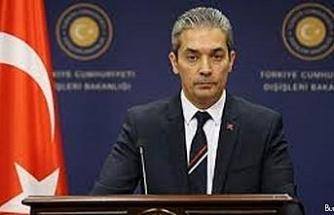 """""""Irak makamlarına, uluslararası hukuk ve Irak Anayasasından kaynaklanan yükümlülüklerini yerine getirerek topraklarını PKK terör örgütüne kullandırtmamalarını bekliyoruz"""""""