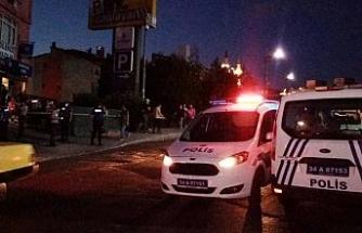 İstanbul Adalet Sarayı'nın karşısında silahlı yaralama