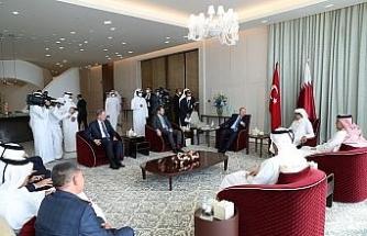 """""""Katar ziyaretinde verimli görüşmeler gerçekleştirdik"""""""