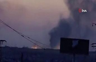 SMO terör örgütü YPG/PKK mevzilerini vurdu