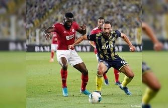 Süper Lig: Fenerbahçe: 1 - D.G. Sivasspor: 2 (Maç sonucu)