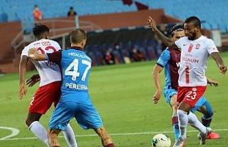 Süper Lig: Trabzonspor: 2 - Antalyaspor: 2 (Maç sonucu)