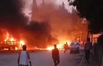 Telabyad'daki saldırıda yaralananlar Türkiye'ye getirildi