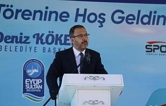 Bakan Kasapoğlu'ndan sporculara müjde