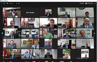 Bakan Pakdemirli 32 bin personel ile online bayramlaştı