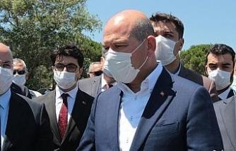 Bakan Soylu'dan Avrupa'ya Yunanistan çağrısı