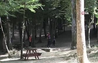 Bayram sonrası Belgrad Ormanı sessizliğe büründü