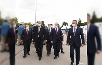 Cumhurbaşkanı Erdoğan, Türkiye'ye güç katacak tesisleri hizmete açtı