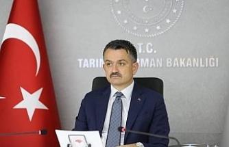 """Bakan Pakdemirli: """"34 projeye 35 milyon lira hibe"""""""