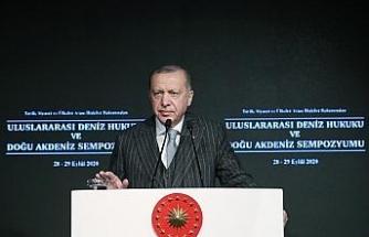 Cumhurbaşkanı Erdoğan'dan AB liderlerine Doğu Akdeniz mektubu