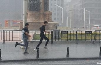 Kuvvetli yağış ve rüzgar geliyor