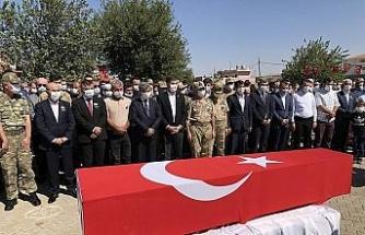 Şehit Temelli memleketi Mardin'de son yolculuğuna uğurlandı