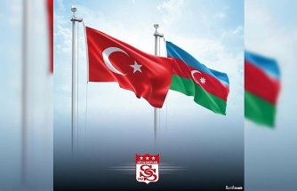 Sivasspor'dan Azerbaycan destek mesajı