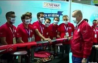 """""""Tanyeli Roket Takımı"""" Türkiye birincisi oldu"""