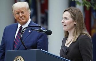 Trump, Yüksek Mahkeme yargıcı adaylığına Amy Coney Barrett'i gösterdi