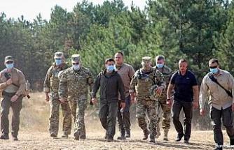 """Ukrayna'da """"Ortak Kuvvetler 2020"""" tatbikatında Türk İHA'ları da yer aldı"""
