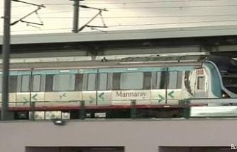 Yüksek gerilim kabloları yandı, Marmaray seferleri durduruldu