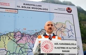 """""""Zigana Tüneli inşaatının yüzde 70'i tamamlandı"""""""