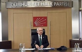 CHP Genel Başkanı Kemal Kılıçdaroğlu Yılmaz ailesine başsağlığı diledi