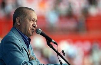 """Cumhurbaşkanı Erdoğan: """"Avrupa Müslümanlara açtığı cephe ile aslında kendi sonunu hazırlıyor"""""""