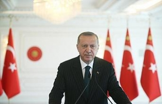 Cumhurbaşkanı Erdoğan'dan İzmir'de meydana gelen depreme ilişkin geçmiş olsun mesajı