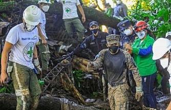 El Salvador'da heyelan: 7 ölü, 35 kayıp