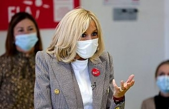 Fransa Cumhurbaşkanı Macron'un eşi Brigitte Macron karantinaya alındı