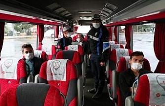 İstanbul'da toplu taşımalara denetim
