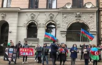 İsveç'te Ermenistan'ın saldırılarında hayatını kaybeden Azerbaycanlı siviller anıldı