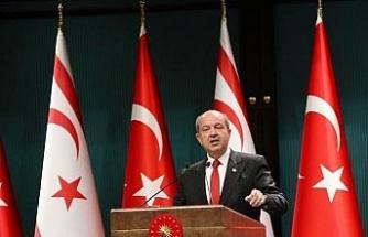 KKTC Cumhurbaşkanı Tatar'dan 29 Ekim mesajı