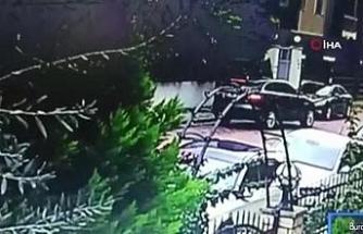 Maltepe'de müteahhide otomobilinde silahlı saldırı kamerada