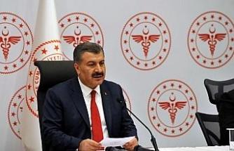 Sağlık Bakanı Koca, Başakşehir Çam ve Sakura Şehir Hastanesi'nde incelemelerde bulundu