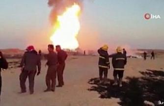 """Şii Haşdi Şabi örgütü: """"Boru hattındaki patlama hava saldırısı sonucu gerçekleşti"""""""