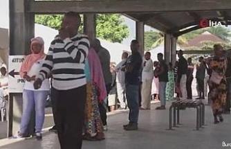 Tanzanya halkı devlet başkanlığı ve meclis seçimleri için sandığa gitti