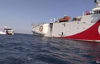 Türkiye Oruç Reis Gemisi'nin Sismik Araştırma çalışmaları için yeni Navtex ilan etti