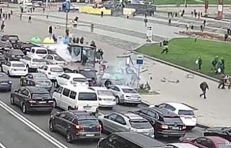Ukrayna'da araç yayaların arasına daldı: 2 ölü, 4 yaralı