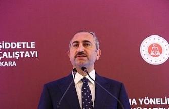 """Bakan Gül: """"Türk yargısı darbeci hainlerden hesap sormaya devam ediyor"""""""